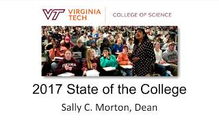 Sally C. Morton: 2017 State of the College
