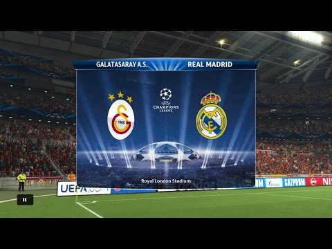 Pes 2015 (PS4) Gameplay - Galatasaray Vs Real Madrid  Full Match