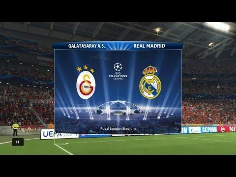 Pes 2015 (PS4) Gameplay - Galatasaray Vs Real Madrid  Full Match