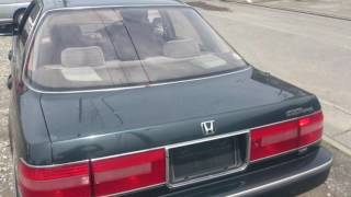 Видео-тест автомобиля Honda Inspire (CB5-1114712 1991г)