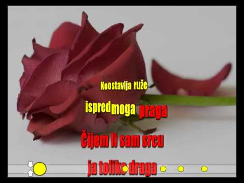 Jelena Brocic - Ko ostavlja ruze [Karaoke]