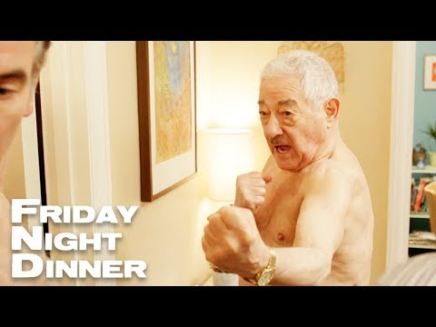 Mr Morris Wants To Fight | Friday Night Dinner