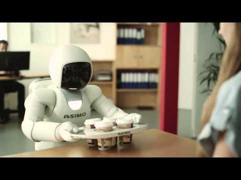 Honda showcases new version of their ASIMO robot
