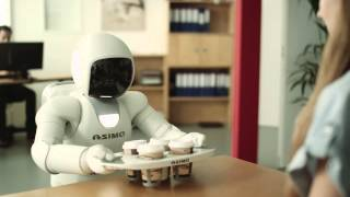 Honda showcases new version of their ASIMO robot