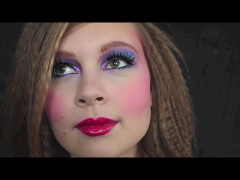 80er Jahre Makeup Frisur Youtube