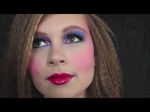 🎉80er Jahre Makeup Frisur🎉 YouTube