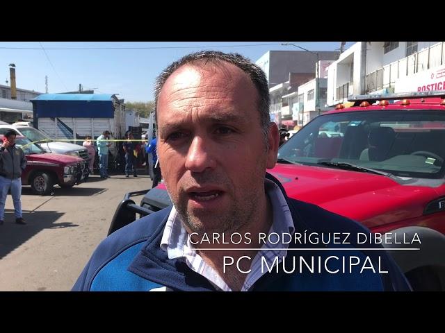 Informe de PC Municipal por incendio en local