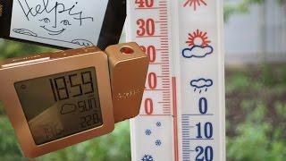 Обзор часов-метеостанции с проектором и предсказанием погоды - Oregon Scientific Proji BAR369P