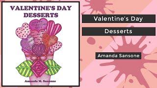 Valentine's Day Desserts - Amanda Sansone    Coloring Book Flip
