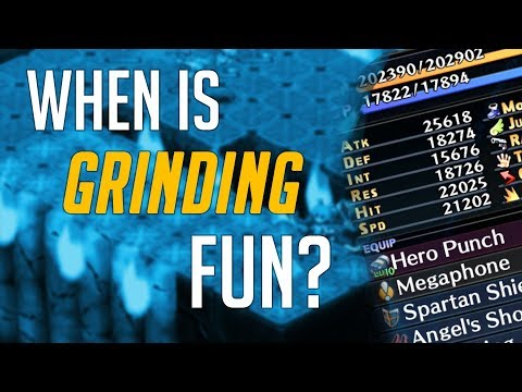 When Is Grinding Fun? - An Exploration Of Grinding Done Well | Draz