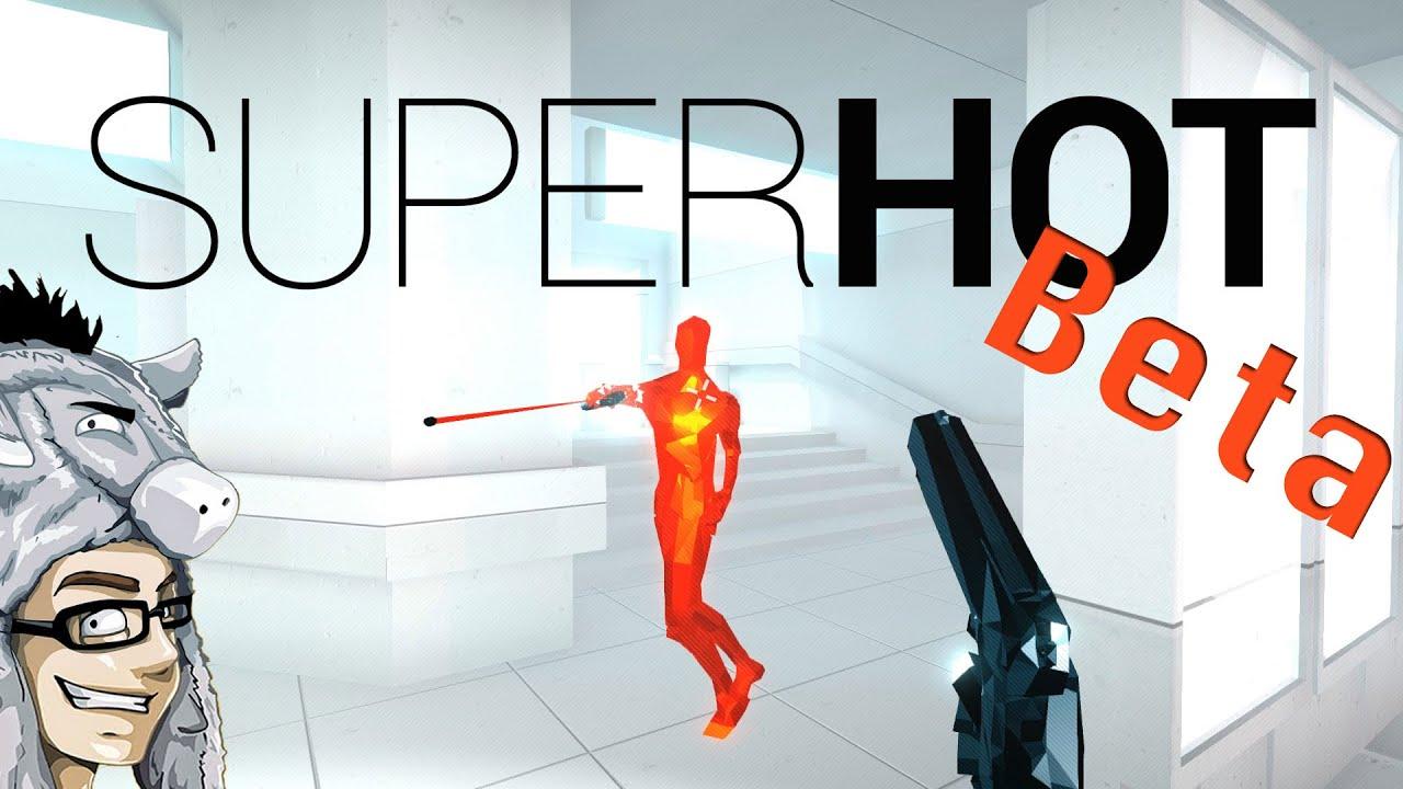 superhot beta gameplay pre release super geil das musst du gesehen haben let 39 s play. Black Bedroom Furniture Sets. Home Design Ideas