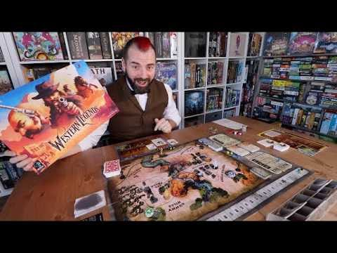 Western Legends Board Game Overview
