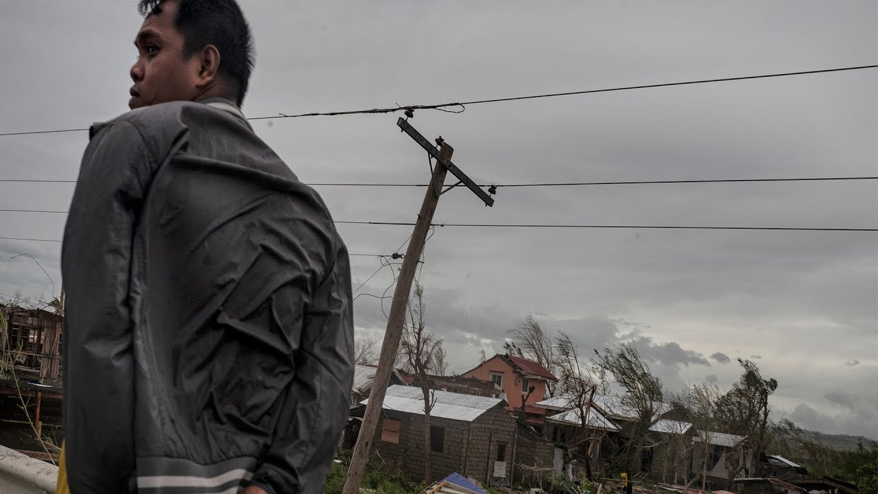 At least 12 killed as Typhoon Mangkhut lashes Philippines