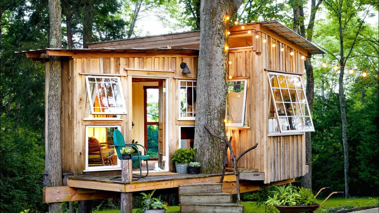 The Most Amazing Tiny Houses You Ll Ever See Youtube