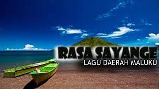 Gambar cover LAGU RASA SAYANGE (LIRIK)   LAGU DAERAH MALUKU