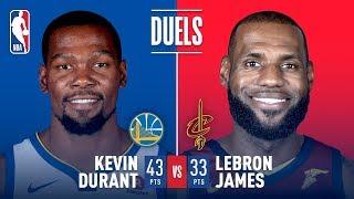 Kevin Durant & LeBron James Battle in Game 3 | 2018 NBA Finals
