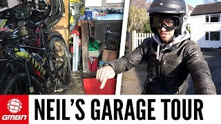 Neil Donoghue's Garage Tour | What Does A Real Bike Cave Look Like?