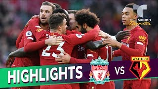 Liverpool vs. Watford: 2-0 Goals & Highlights | Premier League | Telemundo Deportes
