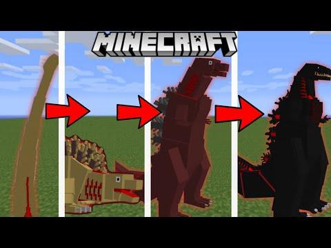 Minecraft BE Shin Godzilla Addon Update! / Showcase / 신 고질라 애드온 업데이트!