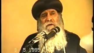 الوعظ والتعليم † عظه رائعه جدا للبابا شنوده الثالث † 1995