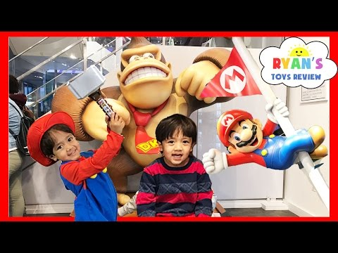 TOY HUNT Shopping Toys For Kids Nintendo World Store NYC