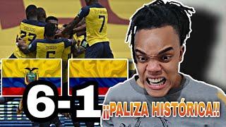 ECUADOR vs COLOMBIA (6-1) | REACCIÓN de un HINCHA | Golazo de Plata | ELIMINATORIAS AL MUNDIAL 2020