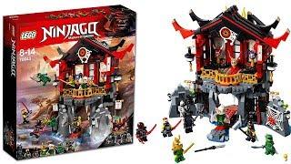 LEGO Ninjago 2018 Храм Воскресения из мультсериала Ниндзяго 8 сезон Сыны Гармадона