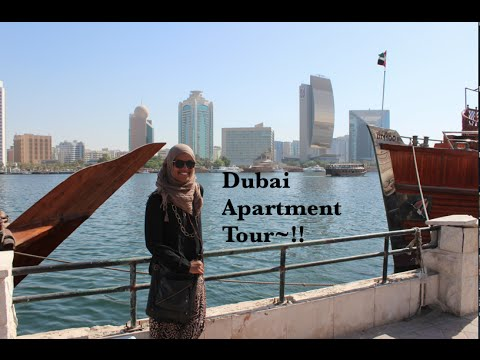 Dubai Apartment Tour~!!