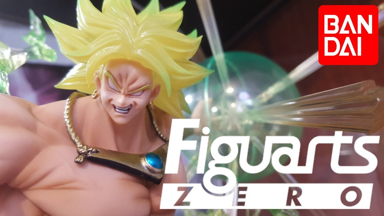 Bandai Dragon Ball Z Figuarts ZERO Super Saiyan Broly Burning Battles Statue NEW