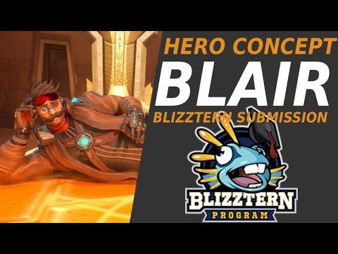 Download Hero Concept Blair | Blizztern Submission | Overwatch