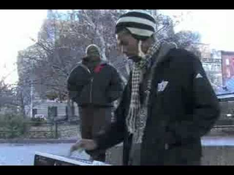 Damu on the MPC2000 in Washington Square Park, NYC - Overtime Bonus Beats 1