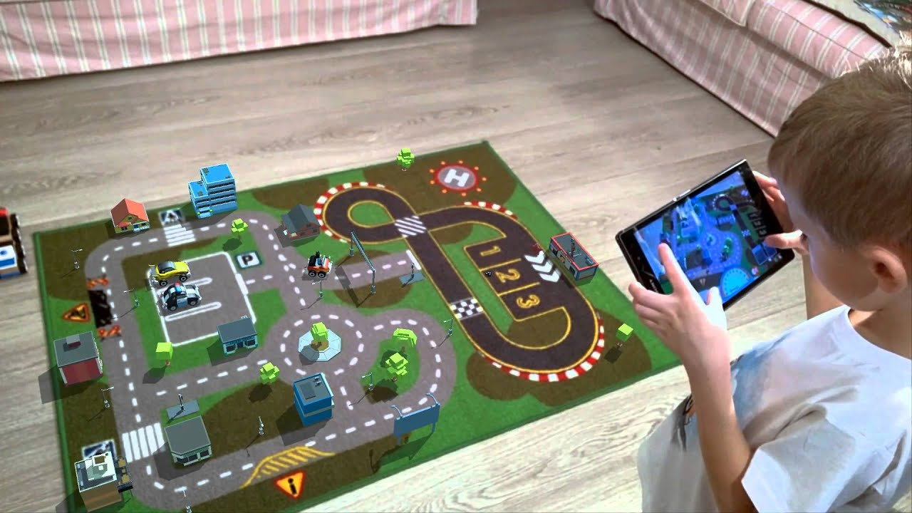 Augmented reality carusel game on carpet youtube - Times table racing car game ...