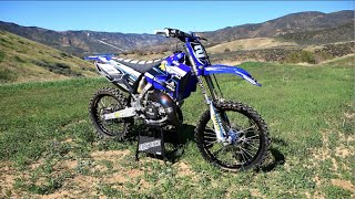 The 2 Stroke Dream Epic YZ 125 session - Dirt Bike Magazine