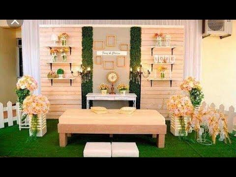 Membuat Dekorasi Pernikahan Menggunakan Kayu Jati Belanda