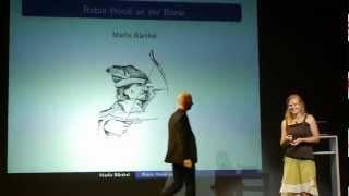 Marlies Bärthel erklärt die Finanztransaktionssteuer ScienceSlam 2012