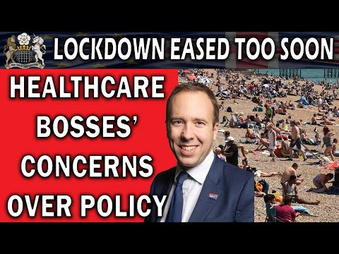 Healthcare Fears With Easing Covid Lockdown