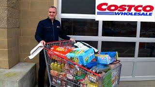 Покупки в Costco для Коли и не только Закупка продуктов на 500 в США Шоппинг на День Влюбленных