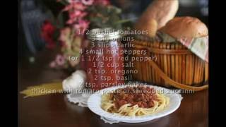 Canning Pasta Sauce Homesteading for Beginners VOL part 6