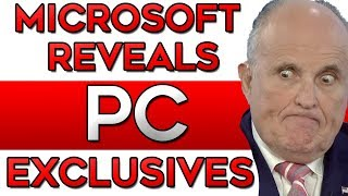MIcrosoft Reveals PC EXCLUSIVES But NO XBOX Console Exclusives