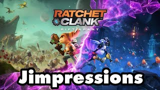 Ratchet & Clank: Rift Apart - An Actual PS5 Game (Jimpressions) (Video Game Video Review)
