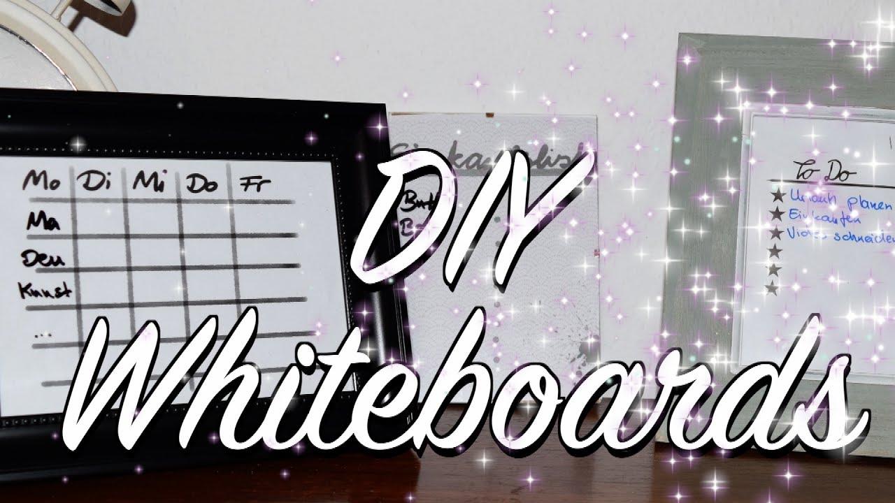 abwischbare whiteboards memoboards mit vordruck selber bauen diy anleitung youtube. Black Bedroom Furniture Sets. Home Design Ideas