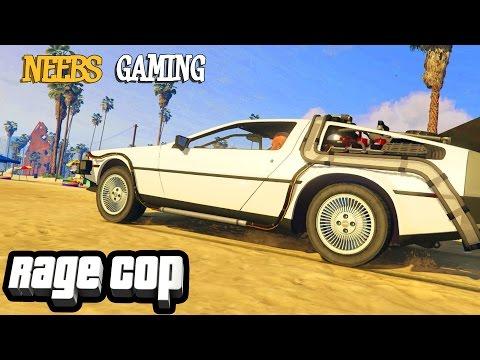 Rage Cop: TIME MACHINE | GTA V Gameplay