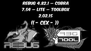 CFW ATUALIZAÇÃO - REBUG 4.82.1 - COBRA 7.54 - TOOLBOX 02.02.15 ( CEX ) + DOWNLOADS