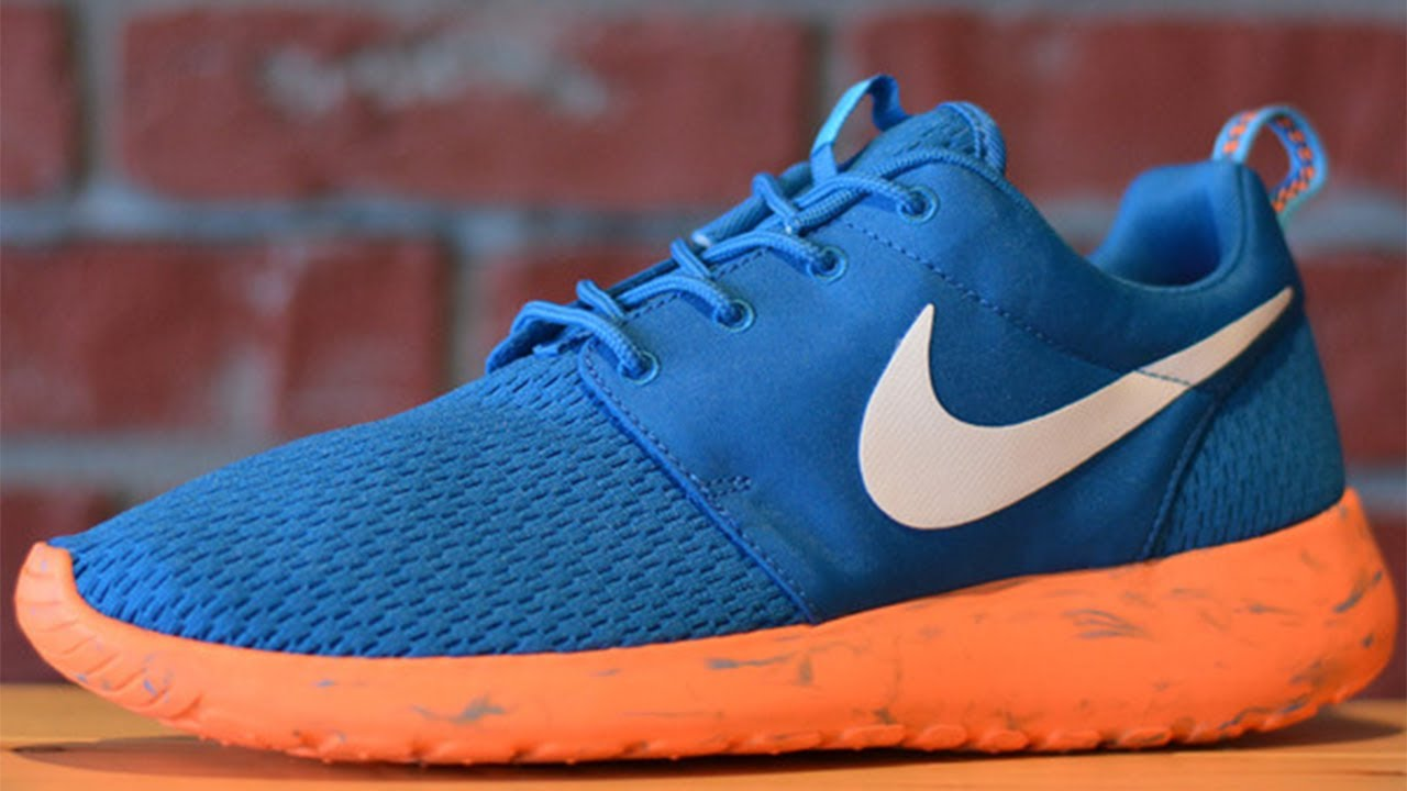 roshe run blue orange