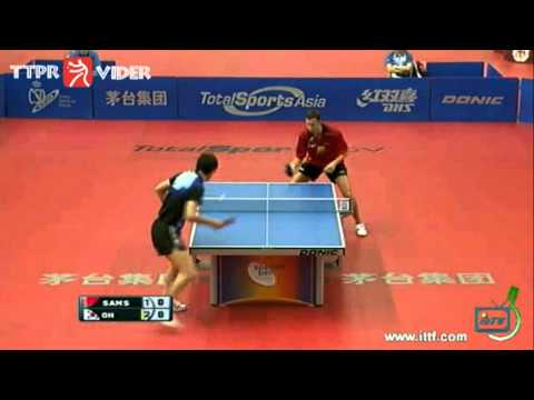 Spanish Open 2011: Oh Sang Eun-Vladimir Samsonov