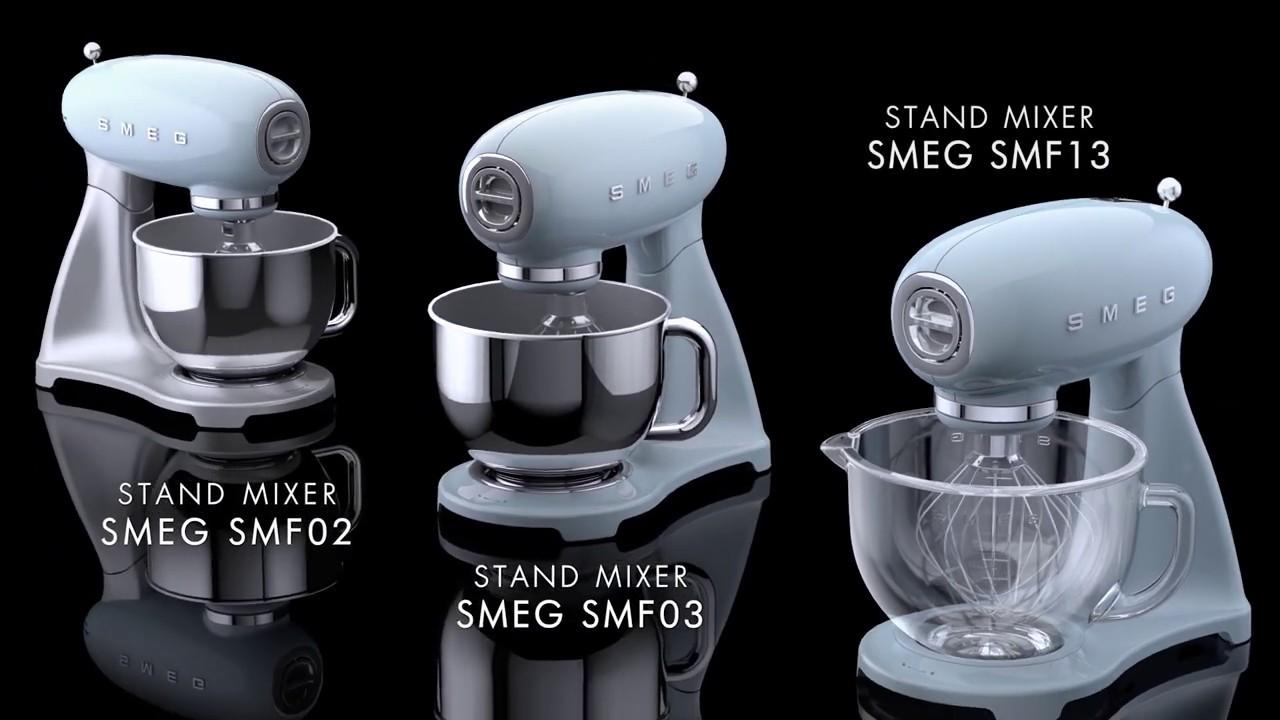 Smeg Stand Mixer Smf02 Smf03 Smf13 Youtube
