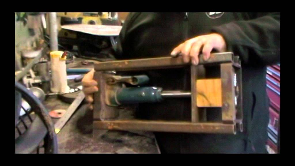 Diy 2 Ton Hydraulic Small Press For Coin Ring Making Youtube