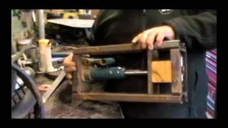 Diy 2 Ton Hydraulic Small Press For Coin Ring Making
