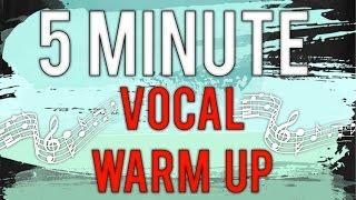 5 minute vocal warm up Cherish Tuttle