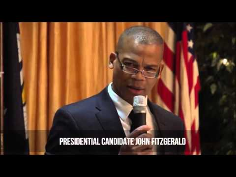 Presidential Candidate John Fitzgerald At Independent Debate 2016